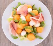 Fruchtiger Melonen-Salat mit nur 8 g Kohlenhydraten