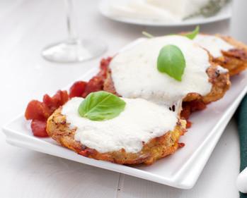 Schweineschnitzel à la Pizza – fast ohne Kohlenhydrate